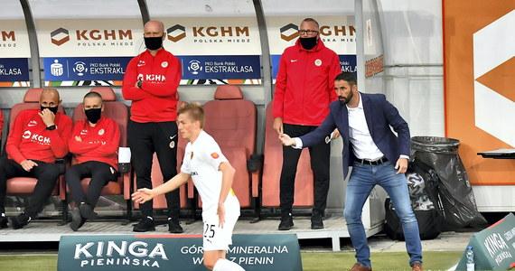 Zagłębie zremisowało 1:1 z Koroną w meczu piłkarskiej ekstraklasy. Faworytem spotkania byli gospodarze, którzy znajdują się wyżej w tabeli.