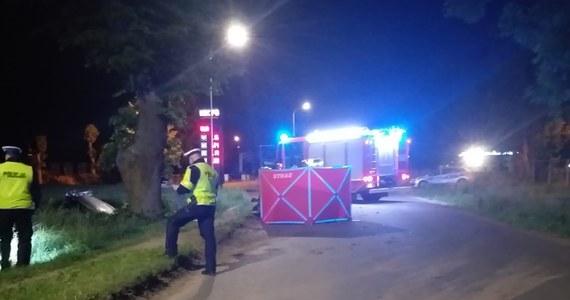 Policja i prokuratura wyjaśniają okoliczności tragicznego wypadku w Pasłęku. Zginął tam 27-letni kierowca, który nie zatrzymał się do policyjnej kontroli.