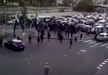 Zmieszki we Francji. Walki uliczne między Czeczenami, arabskimi bandami i policją!