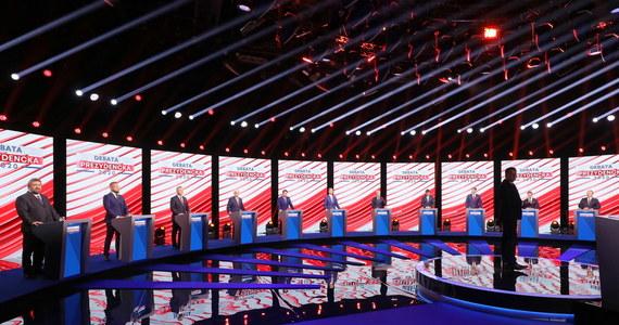 Debata prezydencka. Kandydaci byli pytani m.in. o imigrację, małżeństwa jednopłciowe i szczepionki - RMF 24