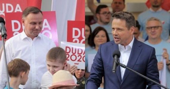 Gdyby wybory odbyły się w najbliższą niedzielę, walczący o reelekcję Andrzej Duda uzyskałby 44,6 proc. głosów - wynika z sondażu pracowni Estymator dla portalu dorzeczy.pl. Na drugim miejscu znalazłby się reprezentujący Koalicję Obywatelską Rafał Trzaskowski, który może liczyć na 29,3 proc. głosów. Według badania, Andrzej Duda wygrałby z Rafałem Trzaskowskim w drugiej turze wyborów, ale jego przewaga byłaby niewielka.