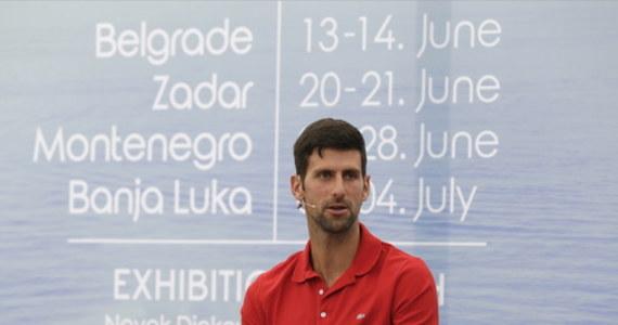 """Boris Becker bronił Novaka Djokovica, zwracając uwagę, że serbski tenisista w szczytnym celu zorganizował cyklu turniejów pokazowych Adria Tour. """"Ale popełnił kilka błędów"""" - przyznał słynny Niemiec, który w przeszłości był trenerem lidera światowego rankingu."""