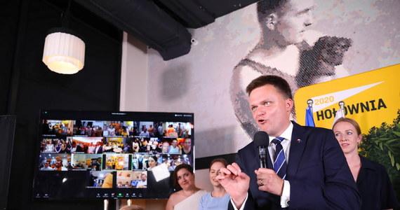 """""""Mam zamiar spotkać się z Szymonem Hołownią, który rozpoczynając kampanię powiedział, że jestem jedną z tych osób, z którą wyobraża sobie współpracę"""" – zapowiedziała wicepremier Jadwiga Emilewicz. Jak dodała, ma nadzieję na przekonanie Hołowni do oddania głosu na Andrzeja Dudę."""