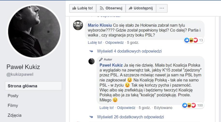 /https://www.facebook.com/kukizpawel/ /Facebook