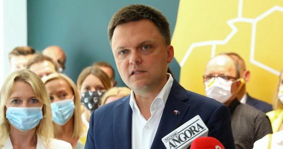 """Szymon Hołownia ogłosił powstanie nowego ruchu. Stowarzyszenie będzie się nazywało """"Polska 2050"""". Jak zapowiedział były kandydat na prezydenta, to """"nie koniec drogi, tylko początek""""."""