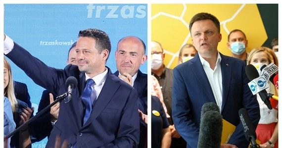 Po godz. 15 Rafał Trzaskowski i Szymon Hołownia wspólnie wezmą udział w debacie o ponadpartyjnej prezydenturze. We wtorek Hołownia - który uzyskał trzeci wynik w wyborach - zaapelował do kandydata KO o uwzględnienie w swoim programie kilku punktów.