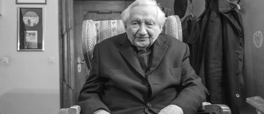 Zmarł ks. Georg Ratzinger - brat emerytowanego papieża Benedykta XVI. Duchowny miał 96 lat.