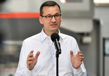 """Morawiecki: Nie chcemy """"wetokracji"""" Trzaskowskiego, to wkładanie kija w szprychy"""