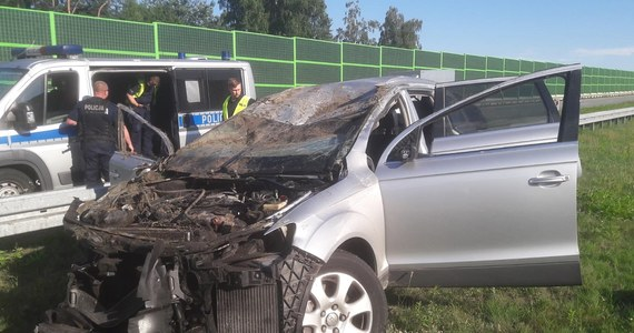 50-letni kierowca zginął w wypadku na autostradzie A1 w Łodzi. Policja szuka dwóch osób. Jechały one audi, które uderzyło w hondę 50-latka. Do wypadku doszło między węzłami Łódź Górna i Łódź Wschód.