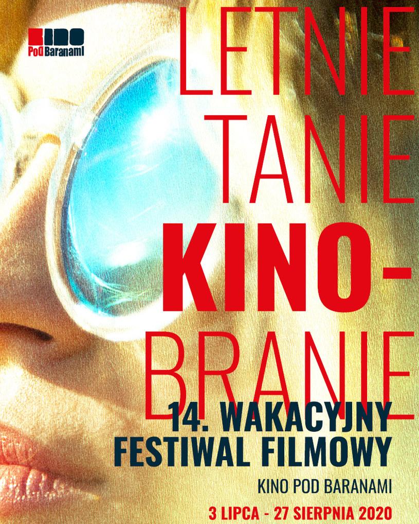 Kino Pod Baranami rozpoczęło 3 lipca 14. edycję wakacyjnego festiwalu filmowego Letnie Tanie Kinobranie. W programie pojawi się ponad 100 tytułów ujętych w osiem cykli tematycznych. W tym roku, po raz pierwszy, festiwal odbędzie się także online, gdzie co tydzień pojawiać się będą dodatkowe filmy.