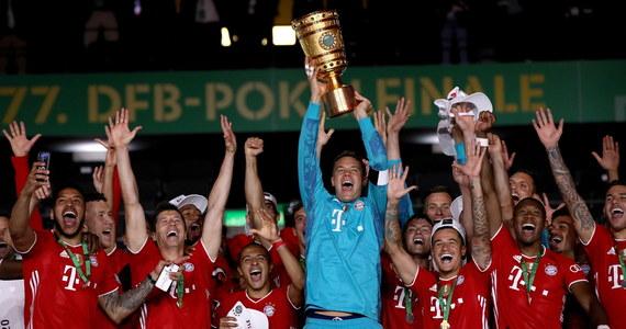 Robert Lewandowski zdobył dwie bramki dla Bayernu Monachium, który po raz 20. w historii wywalczył Puchar Niemiec, pokonując w finale w Berlinie Bayer Levekusen 4:2. Polski piłkarz z sześcioma golami został najlepszym strzelcem tych rozgrywek.