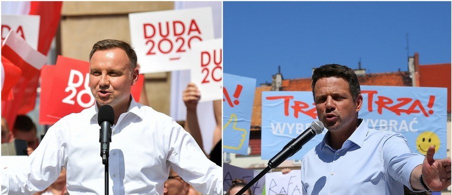 """W II turze wyborów prezydenckich chce wziąć udział ponad 65 proc. badanych - wynika z sondażu United Surveys dla RMF FM i """"Dziennika Gazety Prawnej"""". Według tego badania, walczący o reelekcję Andrzej Duda może liczyć na poparcie 46,8 proc. respondentów, a jego rywal Rafał Trzaskowski - na 45,9 proc. głosów."""