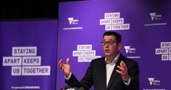 Premier australijskiego stanu Wiktoria Daniel Andrews zdecydował się we wtorek na ponowne wprowadzenie ograniczeń w Melbourne, drugim największym mieście kraju, w związku ze wzrostem liczby zakażeń koronawirusem.