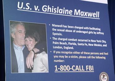Stręczyła ofiary pedofila Jeffreya Epsteina. Może mieć zdjęcia obciążające wpływowych ludzi