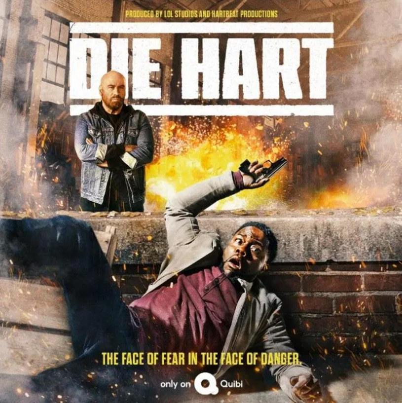 """Kevin Hart wcieli się w rolę... Kevina Harta w przygotowanej dla serwisu streamingowego Quibi produkcji zatytułowanej """"Die Hart"""". Gwiazdor komedii rozpocznie naukę w prowadzonej przez Johna Travoltę szkole dla aktorów występujących w filmach akcji. Właśnie pojawił się zwiastun tej produkcji."""