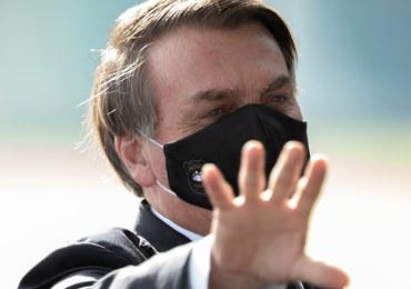 Prezydent Brazylii lekceważył koronawirusa, sam został zarażony