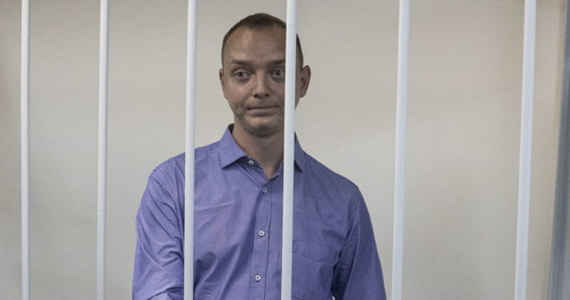"""Były dziennikarz gazety """"Kommiersant"""" Iwan Safronow, podejrzany o zdradę stanu, zostanie umieszczony w areszcie śledczym na dwa miesiące - zdecydował sąd w Moskwie. Safronow od maja był doradcą szefa agencji kosmicznej Roskosmos. Według rosyjskich służb  jest podejrzany o przekazywanie tajnych informacji jednej ze służb specjalnych NATO."""