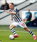 WBA - Derby County 2-0 w 42. kolejce Championship. Asysta Grosickiego