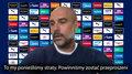 Premier League. Pep Guardiola: Powinniśmy być przeproszeni. Wideo