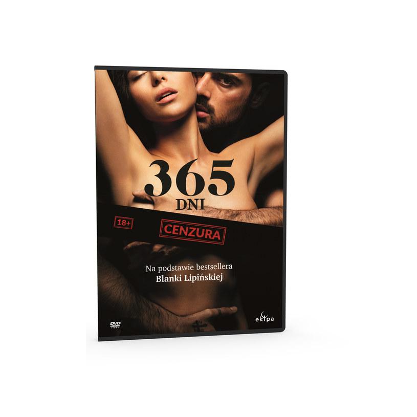 """Globalny fenomen. Produkcja, która zapisała się w historii światowej popkultury. DVD z filmem """"365 dni"""" właśnie trafiło na sklepowe półki."""