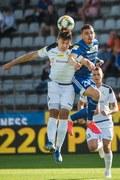 Miedź Legnica - GKS Bełchatów 3-0 w meczu 32. kolejki Fortuna 1. ligi