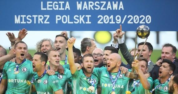 Piłkarze Lecha Poznań pokonali u siebie w kończącej sezon 37. kolejce ekstraklasy Jagiellonię Białystok 4:0 i zostali wicemistrzami kraju. Na trzecim miejscu uplasował się Piast Gliwice - w niedzielę zremisował z Cracovią 1:1. Tytuł już wcześniej zapewniła sobie Legia Warszawa.