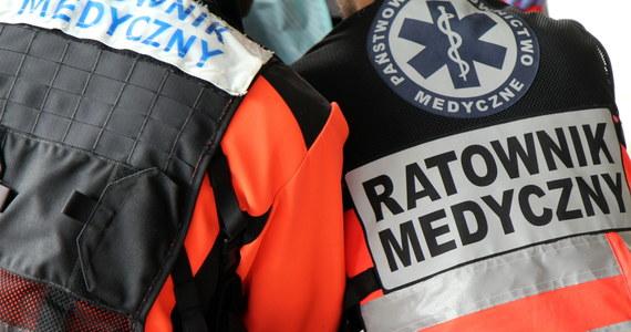 Czteroletnie dziecko jest wśród 6 rannych w wypadku Wielęcinie na Mazowszu. O poranku zderzyły się tam dwa samochody. To odcinek drogi krajowej nr 62.