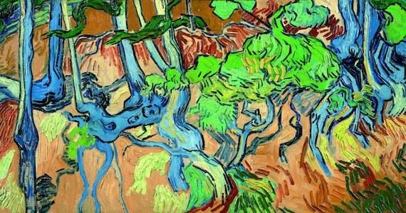 """Obraz """"Trzy korzenie"""" był ostatnim, jaki przed śmiercią namalował Vincent van Gogh. 130 lat od samobójstwa artysty dzięki pocztówkom udało się ustalić miejsce, które go zainspirowało."""