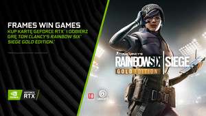 Rainbow Six Siege Gold Edition w pakiecie z kartami GeForce RTX