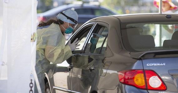 1442 osoby zmarły w Stanach Zjednoczonych z powodu koronawirusa w ciągu minionej doby - wynika z najnowszych danych Uniwersytetu Johnsa Hopkinsa w Baltimore. To czwarty dzień z rzędu w USA z dziennym bilansem ofiar śmiertelnych wyższym niż 1,2 tys.