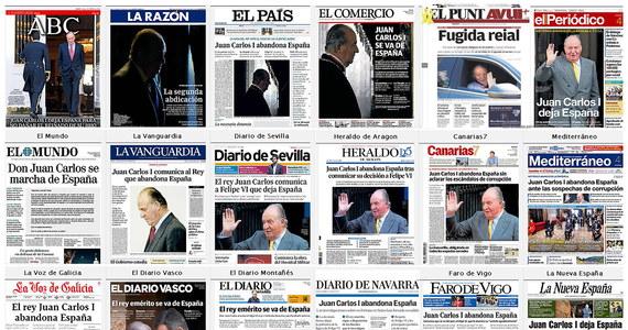 Premier Hiszpanii Pedro Sanchez zapewnił, że inicjatywa służąca nakłonieniu byłego króla Juana Carlosa Burbona do udania się na emigrację, nie pochodziła od rządu. Według prasy, były król udał się na Dominikanę.