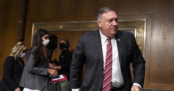 """Sekretarz stanu USA Mike Pompeo w przyszłym tygodniu odwiedzi stolice Europy Środkowo-Wschodniej, aby omówić przegrupowanie amerykańskich żołnierzy w Europie. Ma odwiedzić także Warszawę - informuje """"Politico""""."""