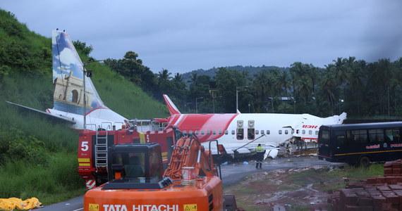 Znaleziono czarną skrzynkę i rekorder zapisujący dźwięk w kabinie pilotów z samolotu, który został poważnie uszkodzony w piątek w Kalikacie.  W wypadku zginęło 18 pasażerów. Ranne są 122 osoby.