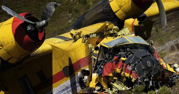W wypadku samolotu gaśniczego, do którego doszło w narodowym parku przyrodniczym Peneda Geres w północnej Portugalii, zginął 65-letni pilot maszyny. Samolot brał udział w akcji gaszenia pożaru.