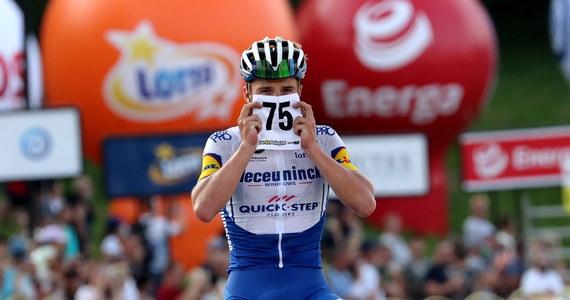 Belg Remco Evenepoel z ekipy Deceuninck-Quick Step wygrał po długiej, samotnej ucieczce czwarty etap wyścigu kolarskiego Tour de Pologne i zdobył koszulkę lidera. Rafał Majka (Bora-Hansgrohe) zajął czwarte miejsce.