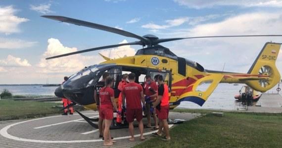 30-latek trafił do szpitala po zderzeniu dwóch skuterów wodnych na Jeziorze Zegrzyńskim. Do wypadku doszło ok. godz. 15.