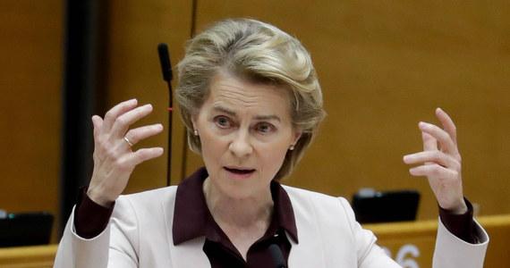 Szefowa Komisji Europejskiej Ursula von der Leyen wezwała władze Białorusi do zapewnienia dokładnego zliczenia i opublikowania głosów w wyborach.