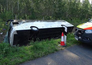 Wypadek polskiego autokaru na Węgrzech. Jest postępowanie wyjaśniające
