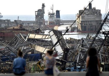 Ponad 15 mld dolarów strat po eksplozji w porcie w Bejrucie
