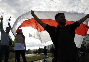 Łukaszenka o protestach: W pierwszych rzędach idą ludzie z przeszłością kryminalną
