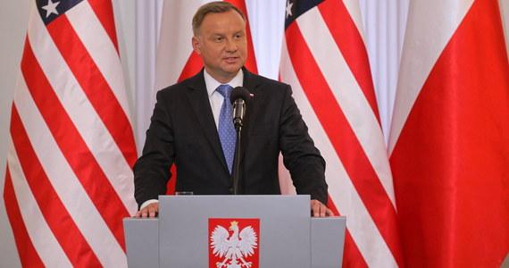 Podpisanie umowy o wzmocnionej współpracy obronnej pomiędzy Polską a Stanami Zjednoczonymi przenosi nas w kolejny, jeszcze bardziej wzmocniony, etap współpracy militarnej - powiedział prezydent Andrzej Duda w sobotę przed podpisaniem umowy o wzmocnionej współpracy obronnej (EDCA).