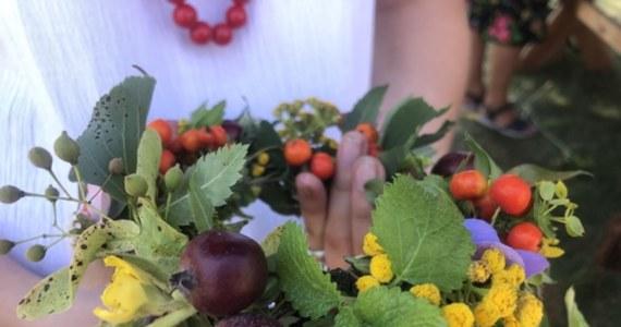 """W skansenie w Maurzycach w powiecie łowickim zorganizowano wydarzenia związane ze świętem Matki Boskiej Zielnej. Turyści poznają tradycje i obyczaje związane ze świętem. Mogą wykonać własną wiązankę, tak zwane """"zielko"""", które będą mogli poświęcić podczas tradycyjnego nabożeństwa."""