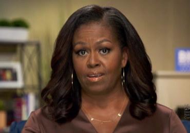 Polityczny naszyjnik Michelle Obamy robi furorę za oceanem [ZDJĘCIA]