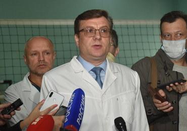 Lekarz o Nawalnym: Nie został otruty. Mógł mu gwałtownie spaść cukier