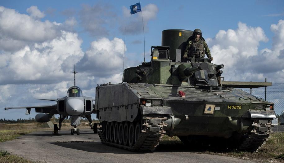 /JOEL THUNGREN/SWEDISH ARMED FORCES  /PAP/EPA