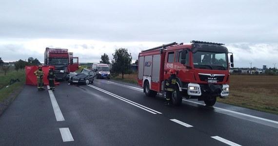 Dwie osoby – 19-letnia kobieta i 21-letni mężczyzna – zginęli w wypadku na drodze krajowej nr 92 w miejscowości Pomarzany pod Krośniewicami (woj. łódzkie). Okoliczności zderzenia samochodu osobowego i ciężarowego wyjaśnia policja pod nadzorem prokuratora.