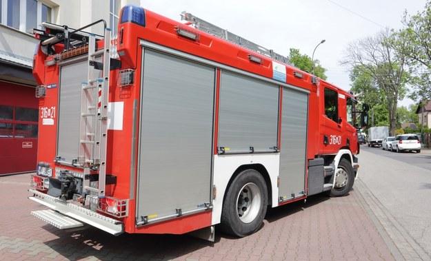 Kraków: Wypadek z udziałem wozu strażackiego. Ranny 11-latek