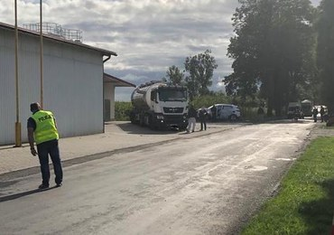 Wypadek w Robakowie. Rannych 5 osób, w tym dzieci