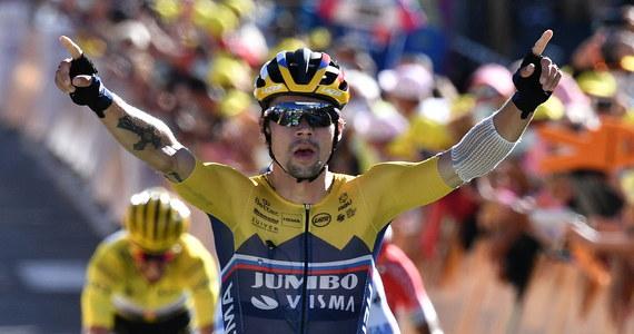 Słoweniec Primoz Roglic z ekipy Jumbo-Visma wygrał w Orcieres-Merlette w Alpach czwarty etap wyścigu kolarskiego Tour de France. Żółtą koszulkę lidera zachował piąty na mecie Francuz Julian Alaphilippe (Deceuninck-Quick Step).