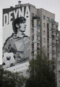 Kazimierz Deyna ma mural na warszawskim Ursynowie